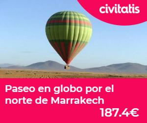 donde alojarse en marrakech  globo