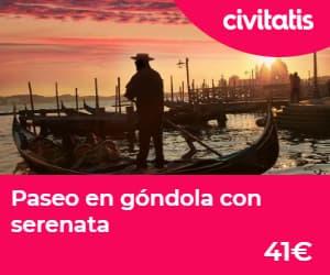 paseo en gondola por venecia con serenata