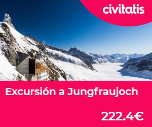 Interlaken a jungfraujoch