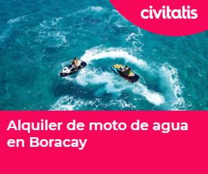 Alquila una moto de agua en Boracay