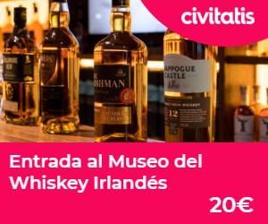 Entrada museo Whiskey Irlandés