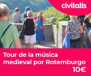 Ruta romantica de Alemania tour musical medieval rotemburgo