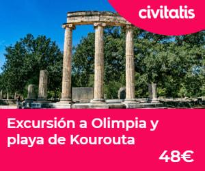 Excursión a Olimpia y playa de Kourouta