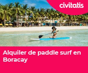 Paddle surf en la playa