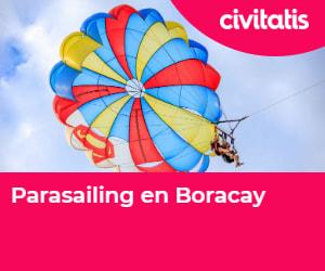 ¡Haz parasailing!