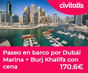 Paseo en barco + Burj Khalifa