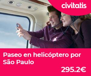 Paseo en helicóptero por Sao Paulo