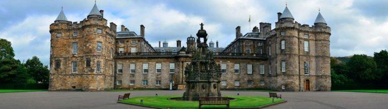 Palacio de Holyrood portada