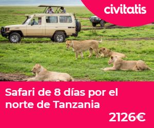 safari en tanzania 8 dias