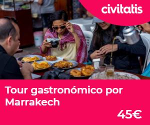 donde alojarse en marrakech  tour gastronomico