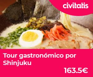 Tour gastronómico Shinjuku | Gastronomía budista