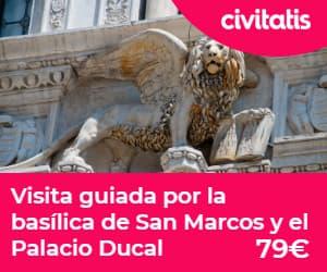 Paseo en góndola por Venecia:  visita guiada basilica san marco y palacio ducal