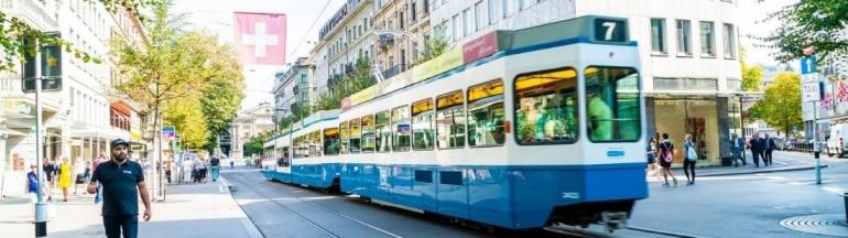 Transporte público en Zúrich: opciones y precios