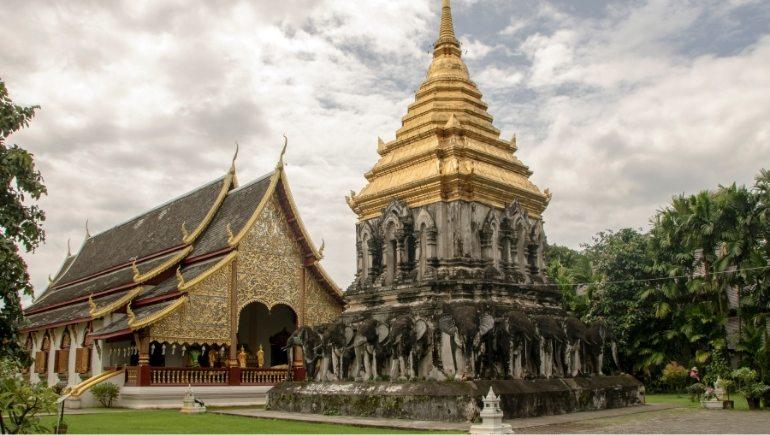 Wat Chiang Man, uno de los mejores templos de Chiang Mai