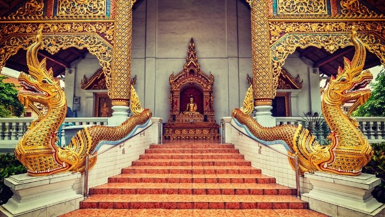 Templos en Tailandia: Wat Phra Singh