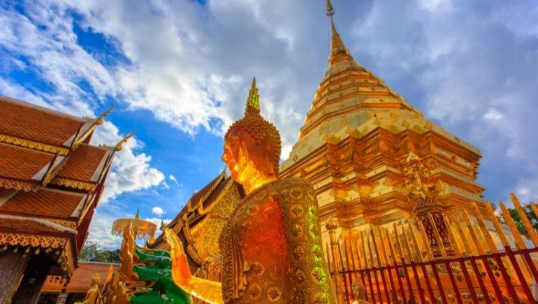 Templos en Chiang Mai: Wat Phra That Doi Suthep