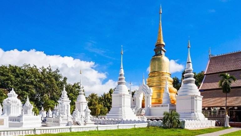 Templos de CHiang Mai: Wat Suan Dok