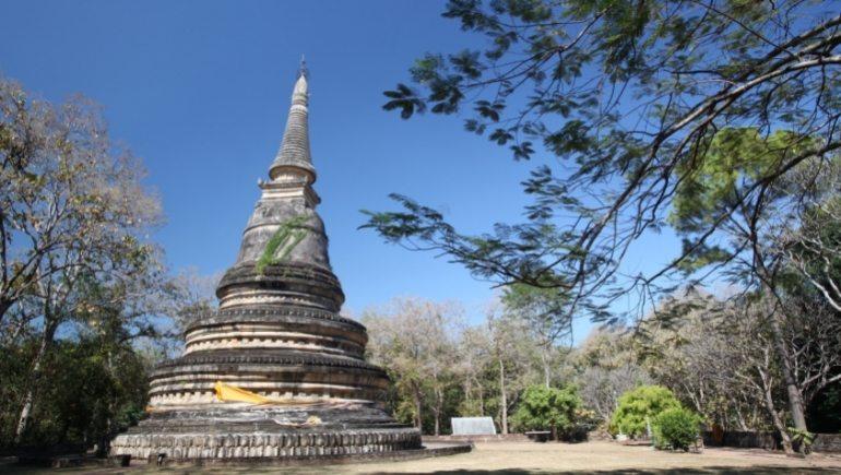 Wat U Mong Mahathera Chan, uno de los templos de Chiang Mai