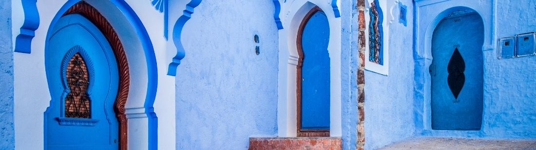 Pueblo azul de Marruecos | Portada