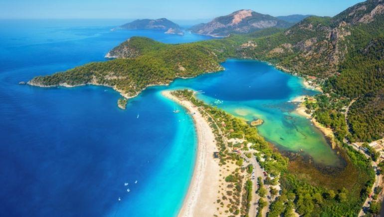 Playas de Turquía: Lagona Azul (Blue Lagoon)