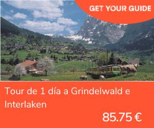 transporte publico en zurich - grindelwald e interlaken