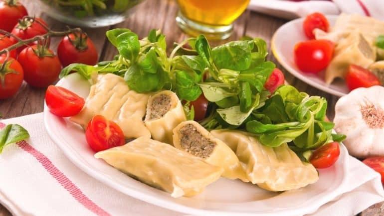 Comida típica alemana - Maultaschen