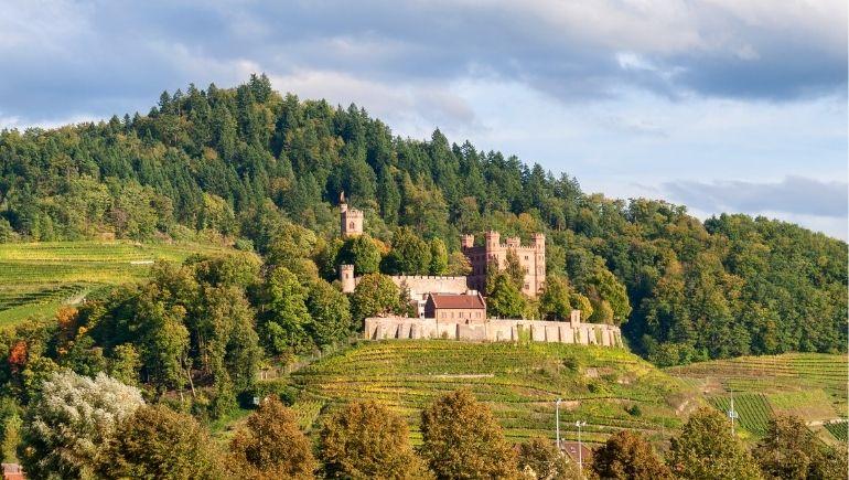 castillos en la selva negra - Schloss Ortenberg