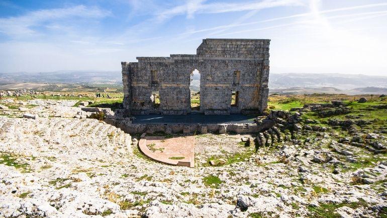 Ruinas de Acinipo en Málaga