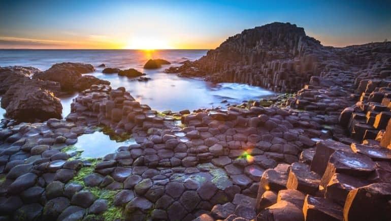 Calzada del Gigante, un monumento natural de Irlanda