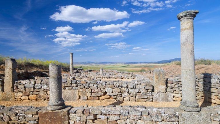 Casa de las columnas de Soria