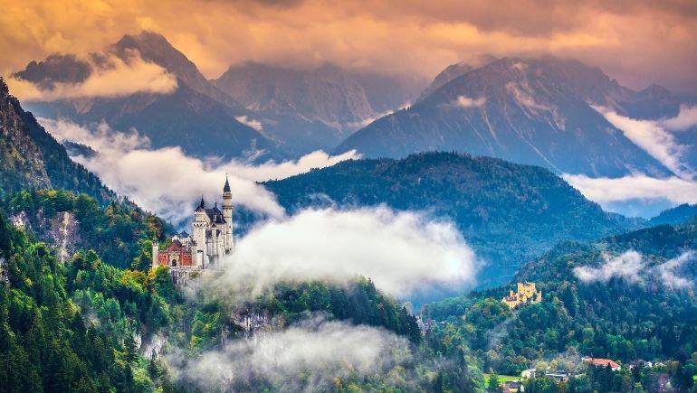 Imagen del castillo del Rey Loco