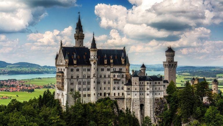 El castillo de Neuschwanstein, el castillo del Rey Loco