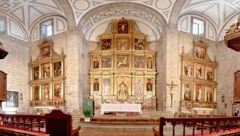 Qué ver en Cebreros: Iglesia de Santiago Apóstol