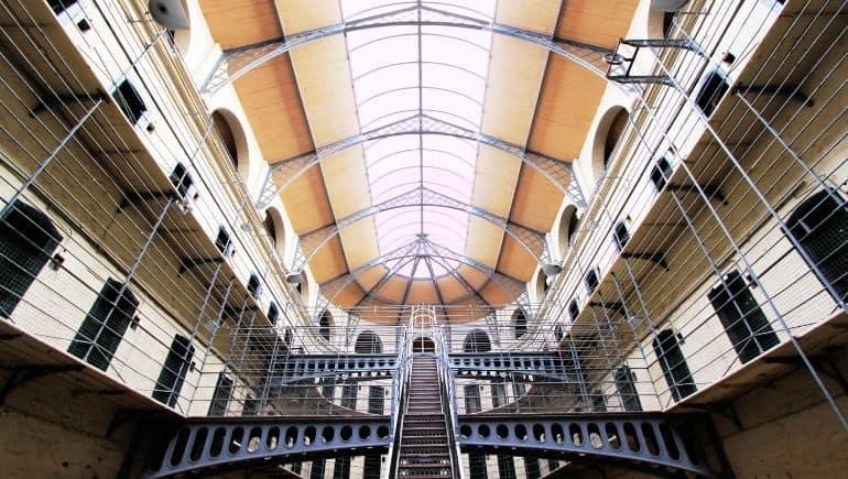 Kilmainham Gaol, un monumento histórico de Irlanda