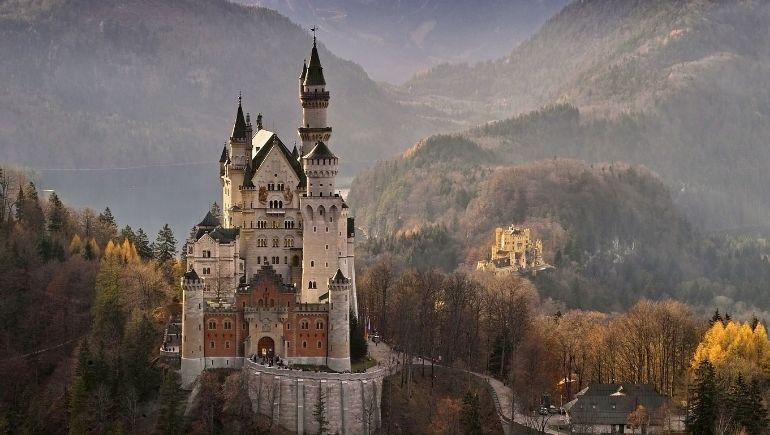 Imagen del castillo de Neuschwanstein