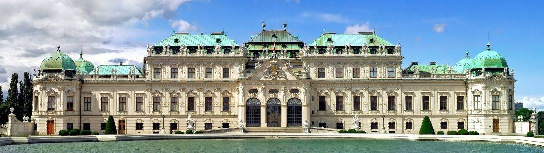 portada palacio de belvedere