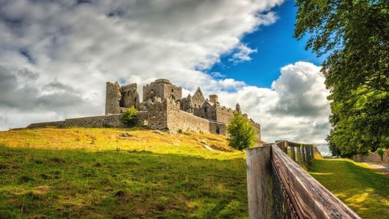 Roca de Cashel, uno de los monumentos de Irlanda