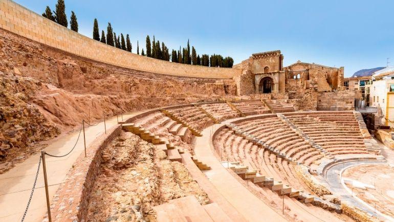 Monumentos romanos de España: teatro de Cartagena