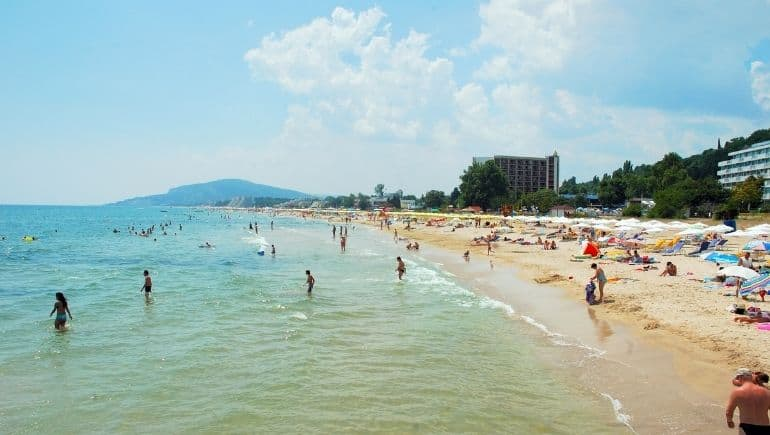 Playas de Bulgaria - Playa Albena