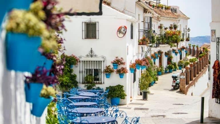 Qué ver en Mijas Pueblo - Calle San Sebastian