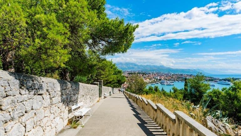 Colina Marjan en Split