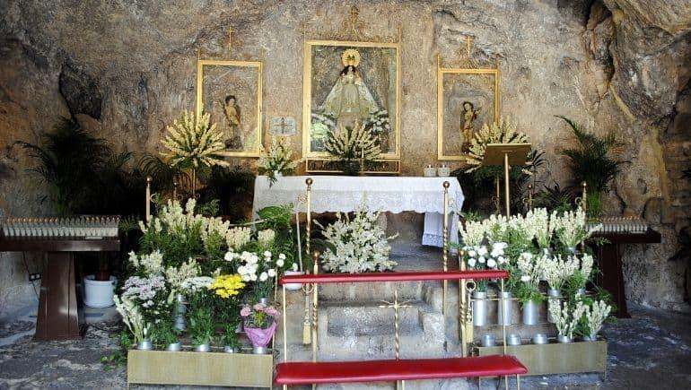 Cosas que ver en Mijas Pueblo: ermita Virgen de la Peña