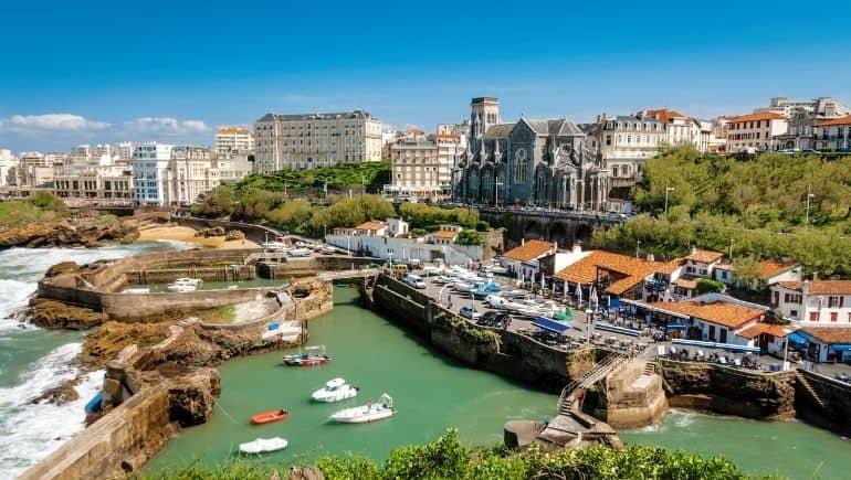 Qué ver en Biarritz - Puerto de los pescadores