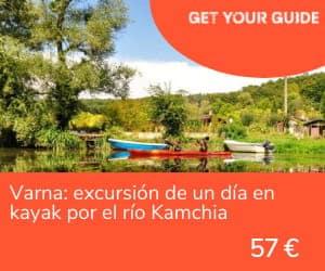 Playas de Bulgaria - Varna kayak