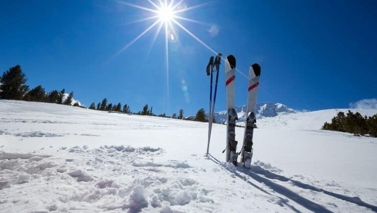 Pista para esquiar en Hungría