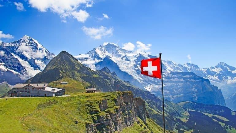 Curiosidades de Suiza: tiene los picos más altos de Europa