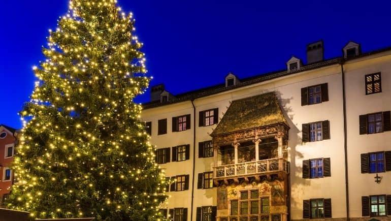 navidad en austria - arbol
