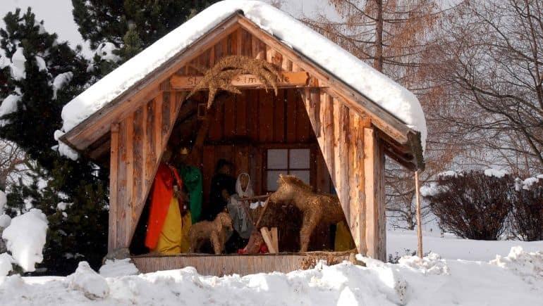Navidad en Austria - Pesebre