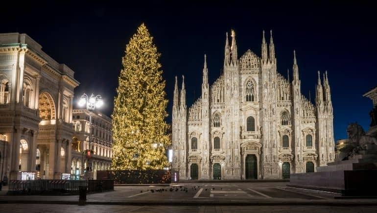 Milán en navidad