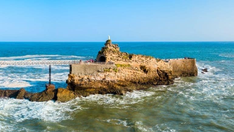 Roca de la virgen | Qué ver en Biarritz